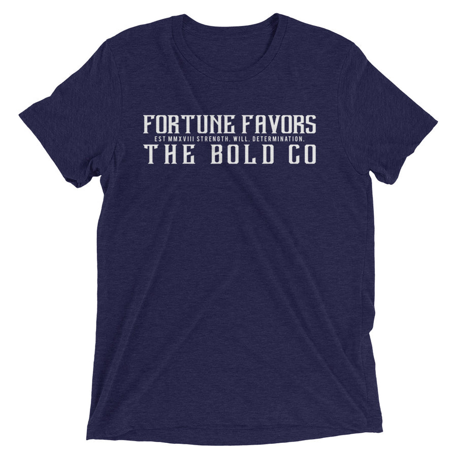 Simple FFTB Tee - Fortune Favors The Bold Co