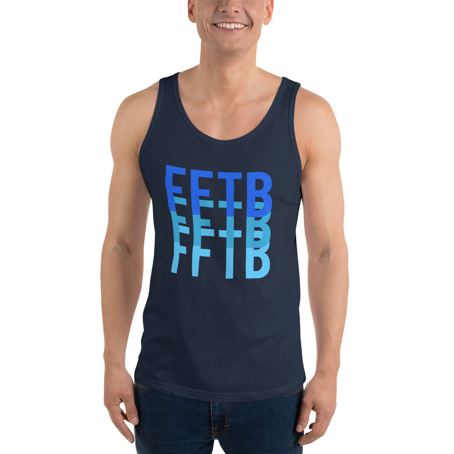 Summer FFTB Men's Ocean Tank - Fortune Favors The Bold Co