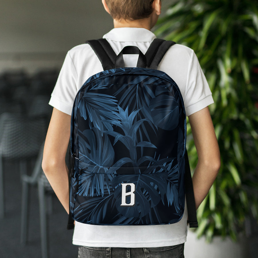 Tropical B Bold Backpack - Fortune Favors The Bold Co