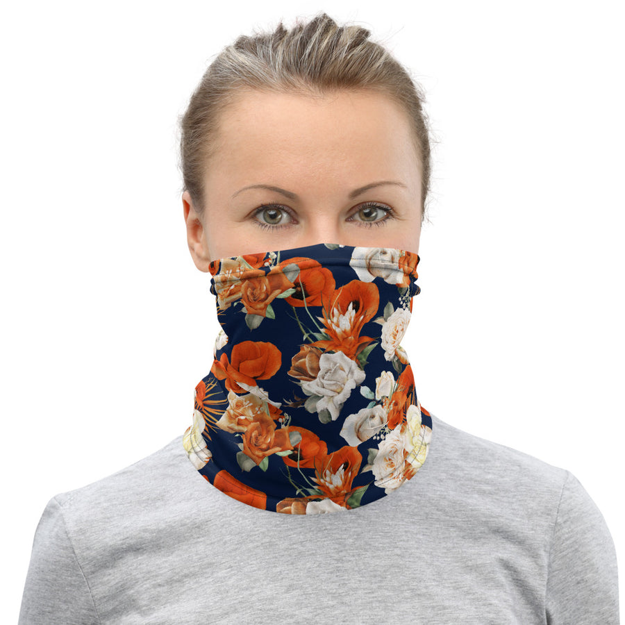 Floral Face Mask - Fortune Favors The Bold Co