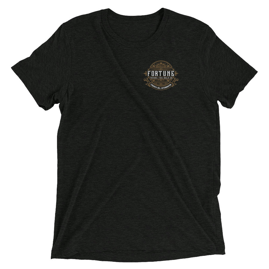 Retro Short Tee - Fortune Favors The Bold Co