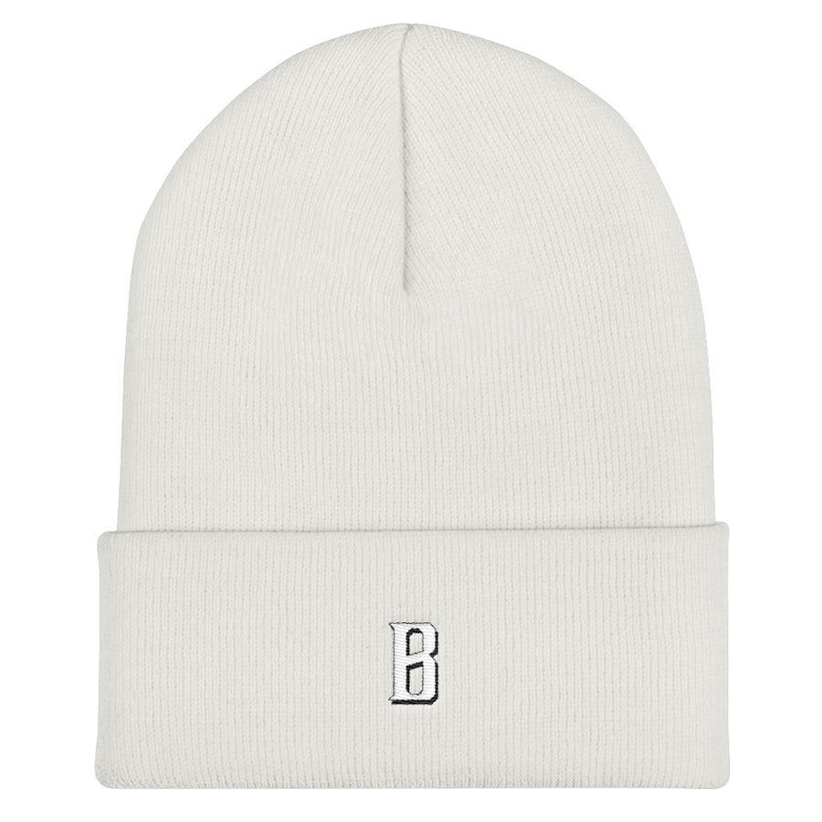 B Bold Cuffed Beanie - Fortune Favors The Bold Co