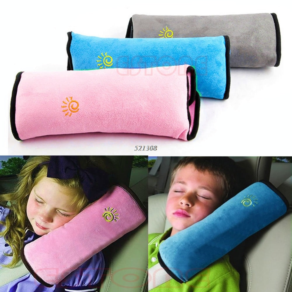 Universal Bay Child Car Cover Pillow Baby Shoulder Safety Belts Children Strap Harness Protection seats Cushion Support