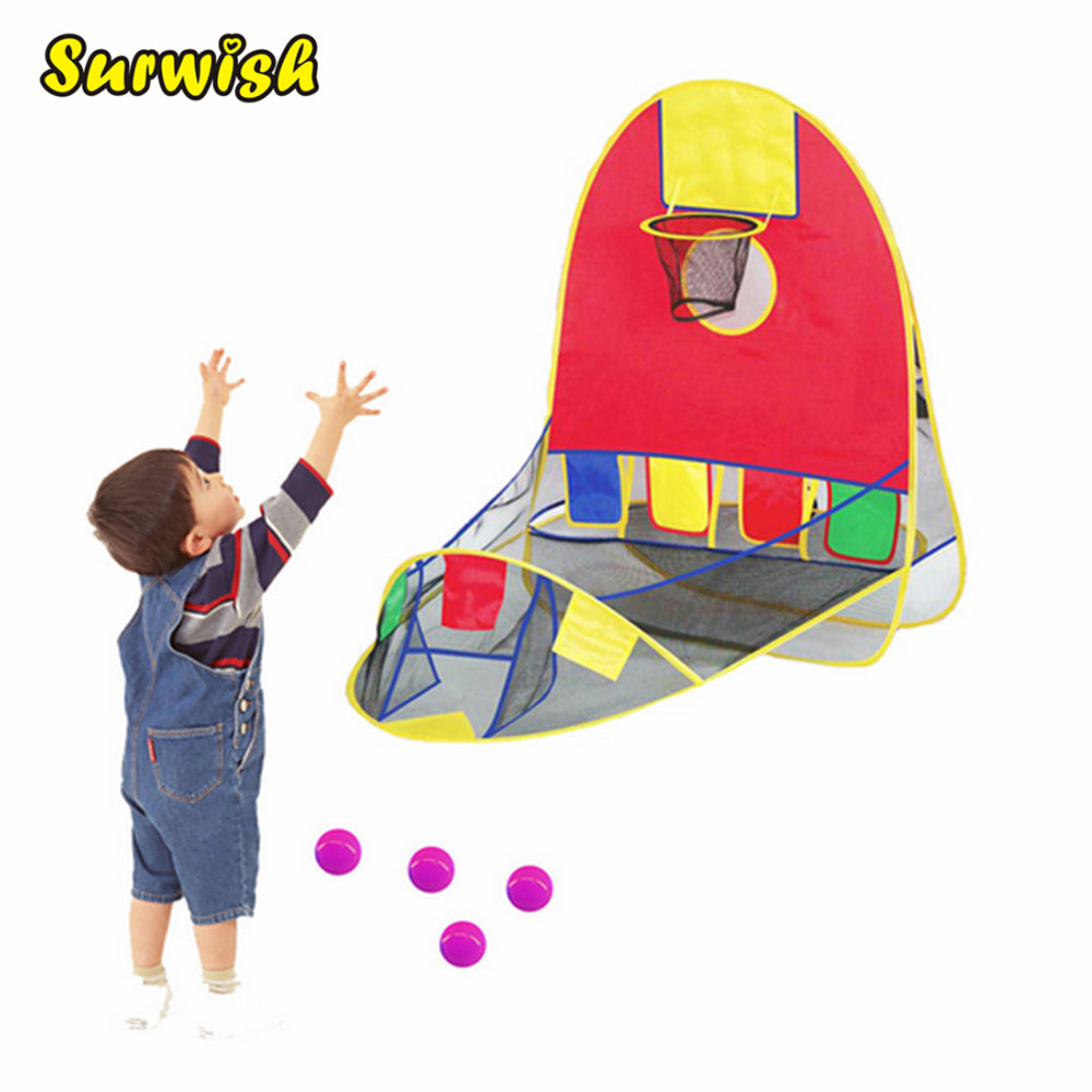 Toddler Basketball Shooting Game-Indoor/Outdoor