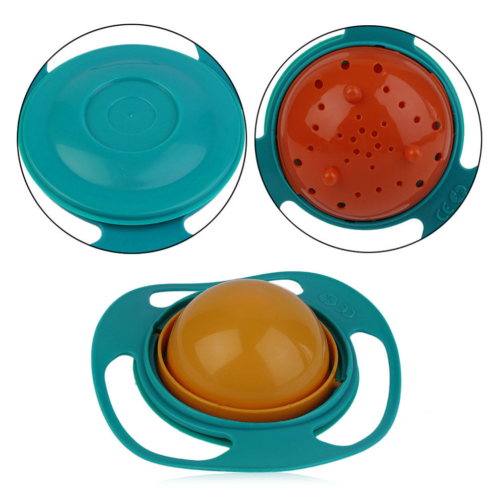 Gyro Spill-proof Feeding Dish
