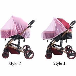 Styles Universal Outdoor Pushchair Nylon Insect Shield Mesh Foldable Buggy Cover Pram Protector Mosquito Net