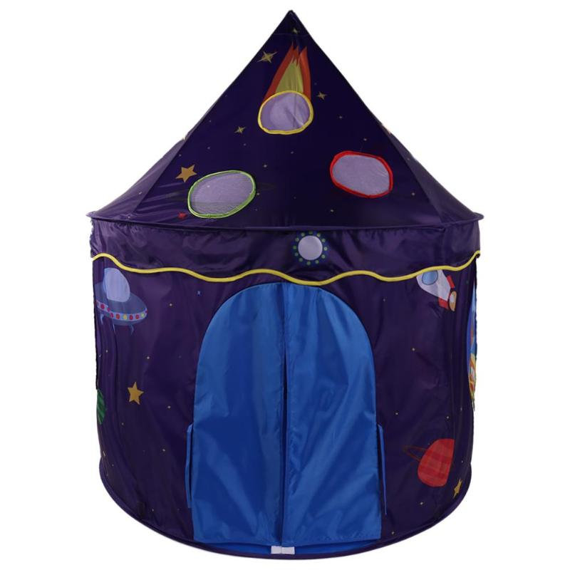Cartoon Portable Folding Ocean Ball Pool Kids Toys Tent Children Indoor Outdoor Playing House Baby Cubby Play Tent