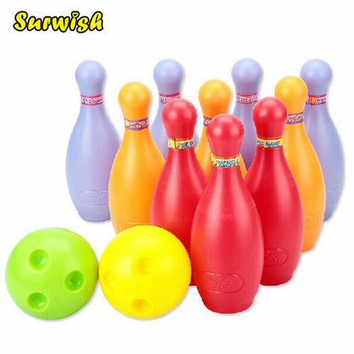 Large-size Children Bowling Set Emulational Sport Toy(1500) - Colorful