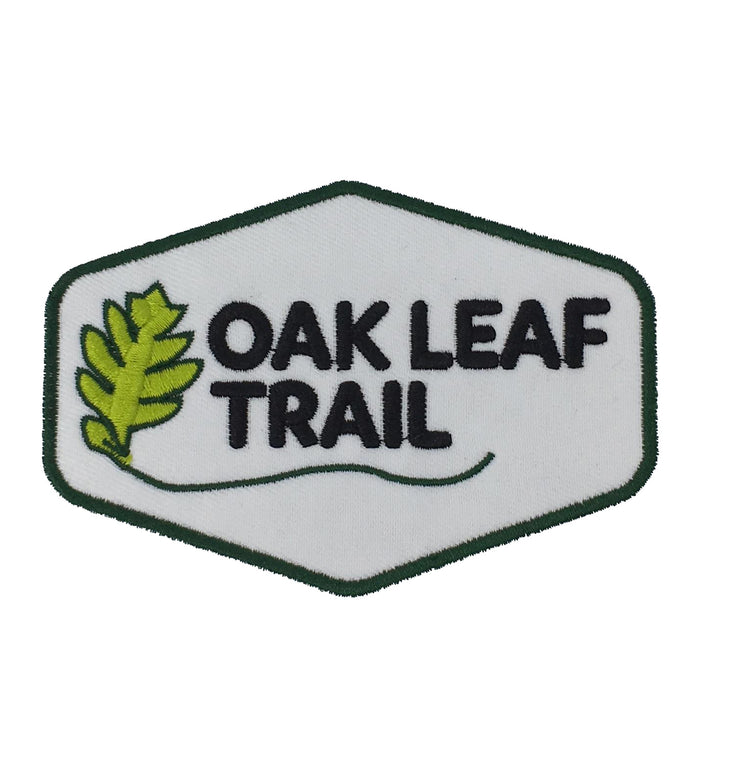 Oak Leaf Trail Iron on patch