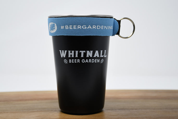 Whitnall Beer Garden Steel Pint (16oz)