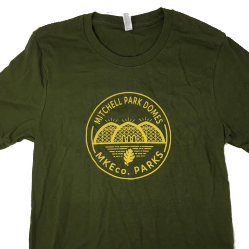 Mitchell Park Domes Olive tshirt