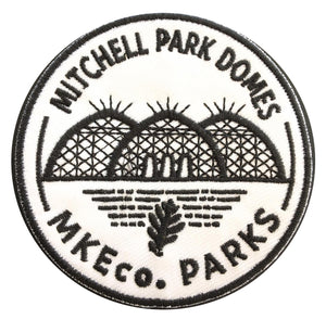 Mitchell Park Domes Iron On Patch