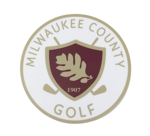 MKE Golf Bumper Sticker
