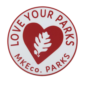 Love Your Parks Car Sticker