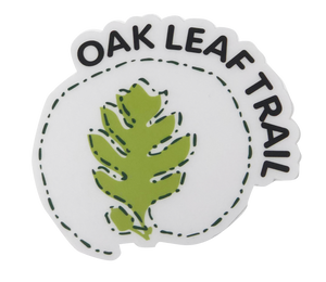 Oak Leaf Trail Sticker
