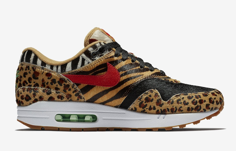 huge selection of 7a9cd f685a Atmos x Nike Air Max 1 Animal Pack 2.0