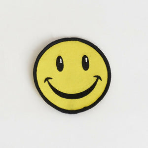 Round Smiley Patch