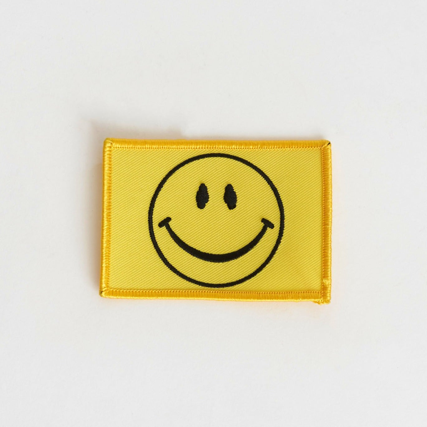 Rectangle Smiley Patch