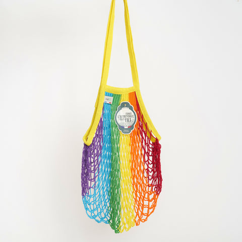 Filt Net Bag in Rainbow