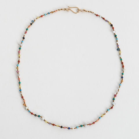 Tara Turner Hand Knotted Gemstone Necklace