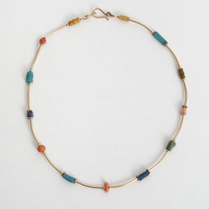 Tara Turner Multi-coloured Bead Choker