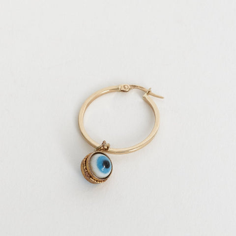 Tara Turner Evil Eye Large Hoop Earring