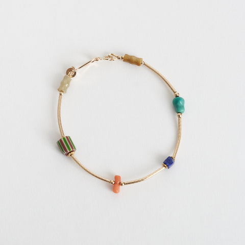 Tara Turner Multi-coloured Bead Bracelet
