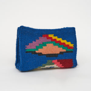 Wool Fabrique Bags Clutch Small in Blue