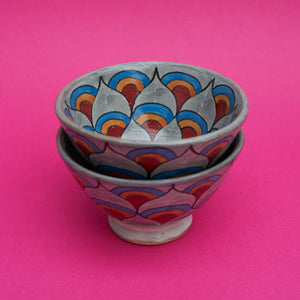 Painted Bowl in Grey - A BAG FULL OF KIM - Kim Sion