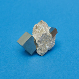 Venusrox - Natural Pyrite cube - A BAG FULL OF KIM - Kim Sion