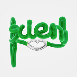Solange Hotscripts Ring Friend in Green