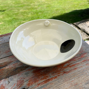 Earthenware Hand Built Breakfast Bowl 7""