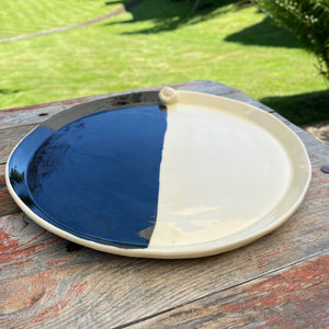 Earthenware Medium Hand Built Plate 9""