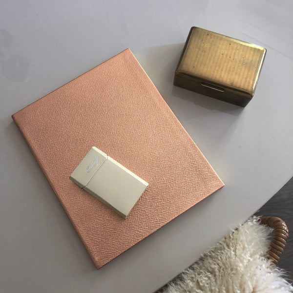 Mount Street Printers Large Notebook in Rose Gold - A BAG FULL OF KIM - Kim Sion