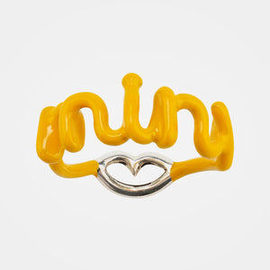 Solange Hotscripts Ring Minx in Yellow