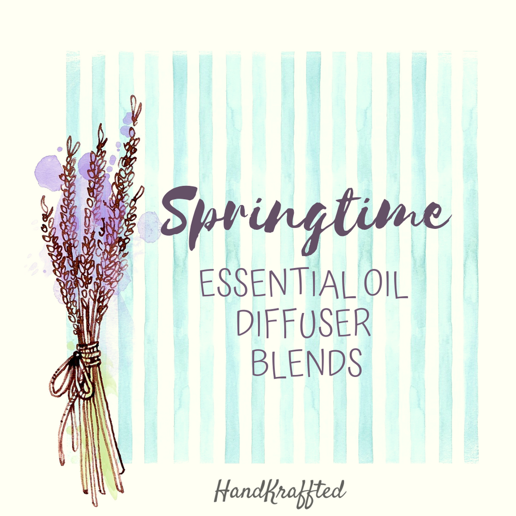 Springtime Essential Oil Diffuser Blend Recipes