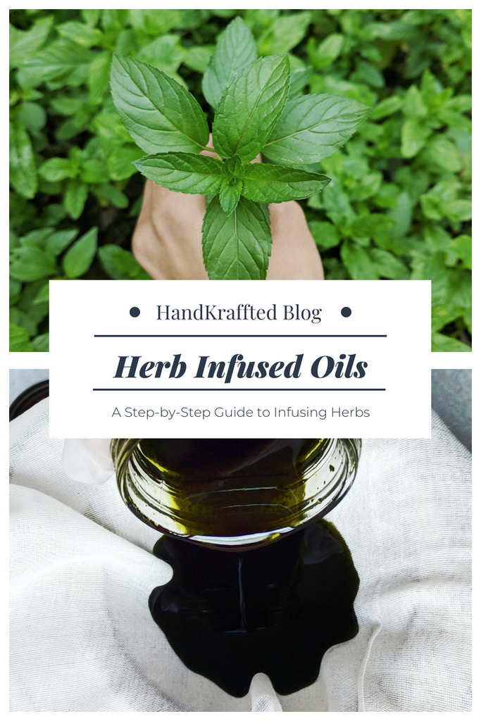 How to Make a Basic Herbal Oil Infusion