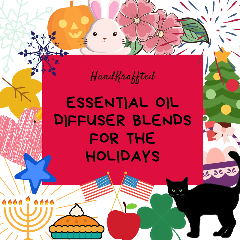 Essential Oil Diffuser Blends for the Holidays