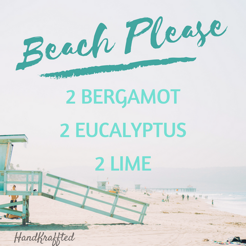 Enjoy a Day at the Beach with our Essential Oil Diffuser Blend Recipe