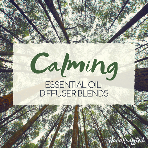 calming essential oil diffuser blends