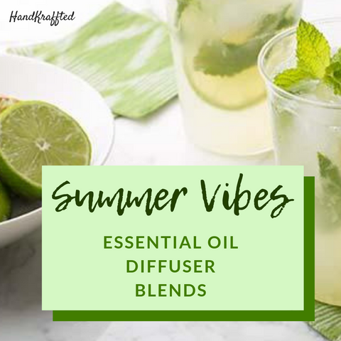 essential oil blends for the summer