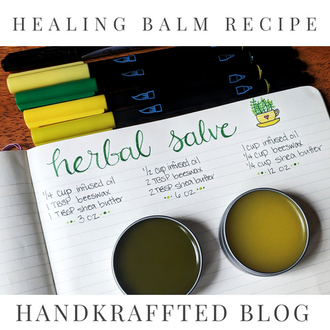 Herbal Healing Salve DIY Recipe