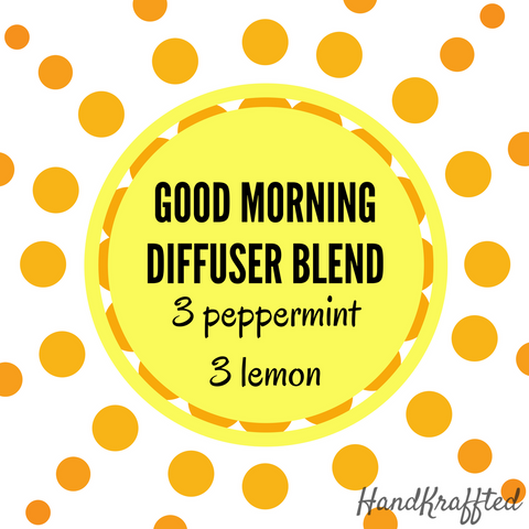 Start your Morning with this Essential Oil Diffuser Blend Recipe