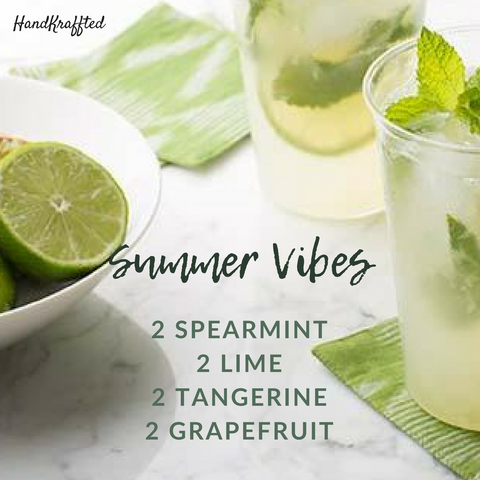 Enjoy Summer Vibes all Year Long with this Essential Oil Diffuser Blend Recipe