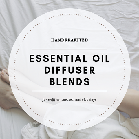 essential oil diffuser blends for cold and flu season