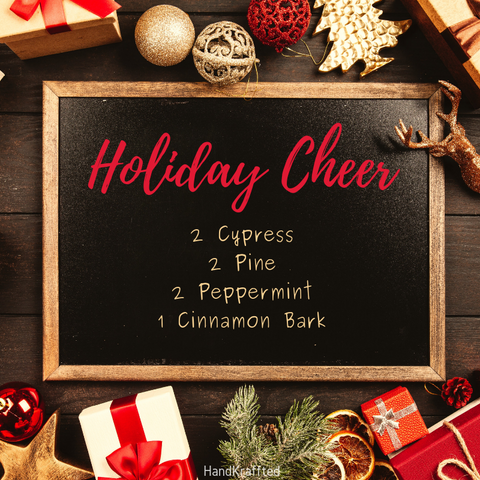 holiday essential oil diffuser blend
