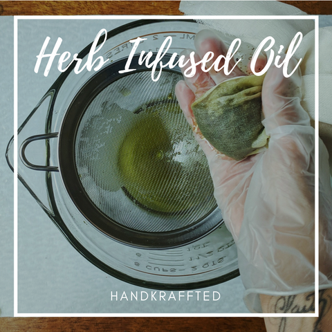 How to make a flower or herb infused oil