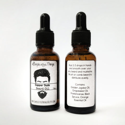 Beard Growth Oil • 1 oz