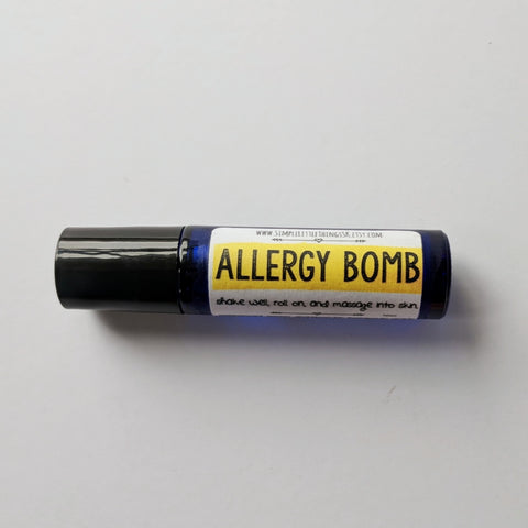Allergy Bomb Essential Oil Roller Blend