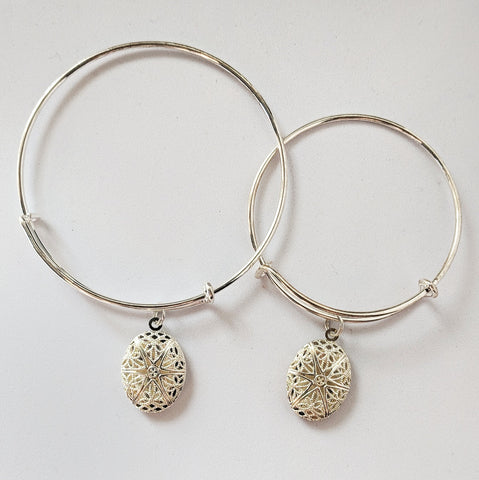 Mom & Me Matching Diffuser Bracelet Set